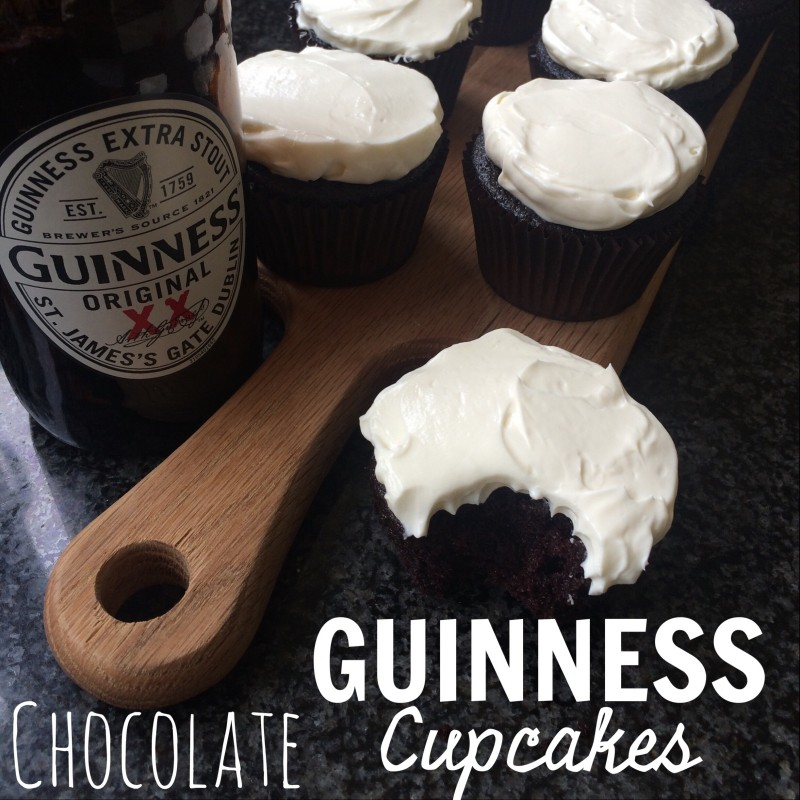 Choc Guinness Cupcakes